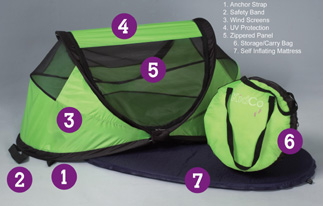 lgcalloutp102ed9d & Peapod Travel Tent by Kidco - Have Twins Will Travel