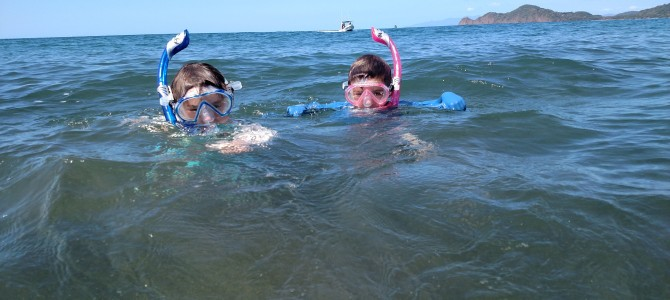 Snorkeling the Nicoya Peninsula