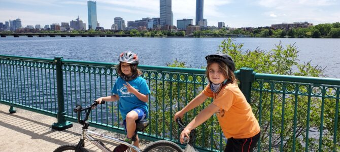 Biking Along the Charles River